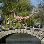 A life size velociraptor heads to Birdland 5 1 150x150 - A Day Out in Bourton-on-the-Water, Cotswolds