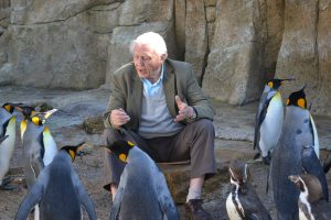 DSC 0061 300x200 - Sir David Attenborough visits Birdland