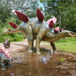 Stegosaurus at Jurassic Journey at Birdland