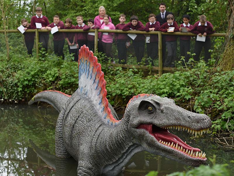 School Visit, Jurassic Journey, Birdland Park & Gardens