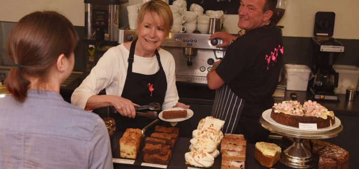 Flamingo Point Cafe cakes 1 710x335 - Cafe Opening Times this Winter