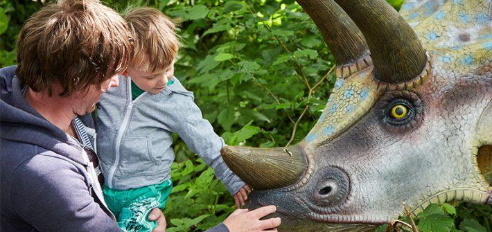 Jurassic Journey at Birdland Park & Gardens