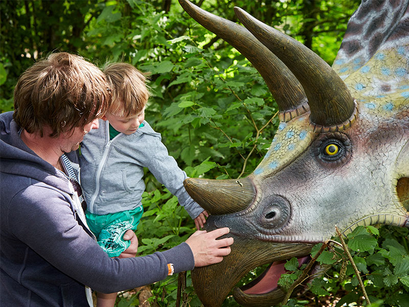 Jurassic Journey at Birdland Park & Gardens